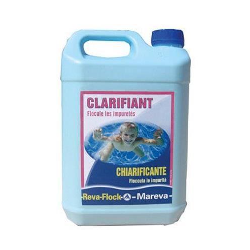 Clarifiant liquide reva flock mareva 5l achat vente for Clarifiant liquide piscine