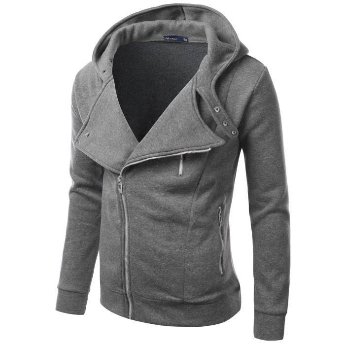 veste a capuche homme marque automne hiver coton poids. Black Bedroom Furniture Sets. Home Design Ideas