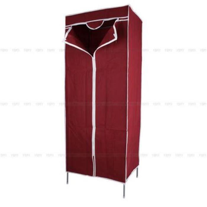 1pc meuble de rangement armoire penderie en tissu stockage achat vente penderie souple 1pc - Armoire de rangement en tissu ...