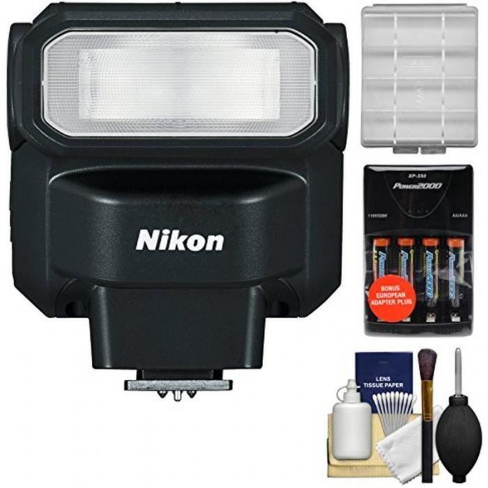 kit flash nikon sb 300 af avec batteries et chargeur. Black Bedroom Furniture Sets. Home Design Ideas