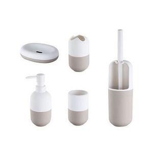 accessoires salle de bain beige achat vente accessoires salle de bain beige pas cher. Black Bedroom Furniture Sets. Home Design Ideas