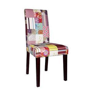 chaise tissu patchwork achat vente chaise tissu patchwork pas cher les soldes sur. Black Bedroom Furniture Sets. Home Design Ideas