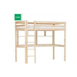 Lit mezzanine avec bureau achat vente lit mezzanine - Lit mezzanine ado avec bureau et rangement ...