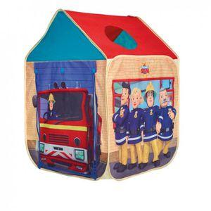 tente cabane de jeux maison gar on sam le pompier achat vente tente tunnel d 39 activit. Black Bedroom Furniture Sets. Home Design Ideas