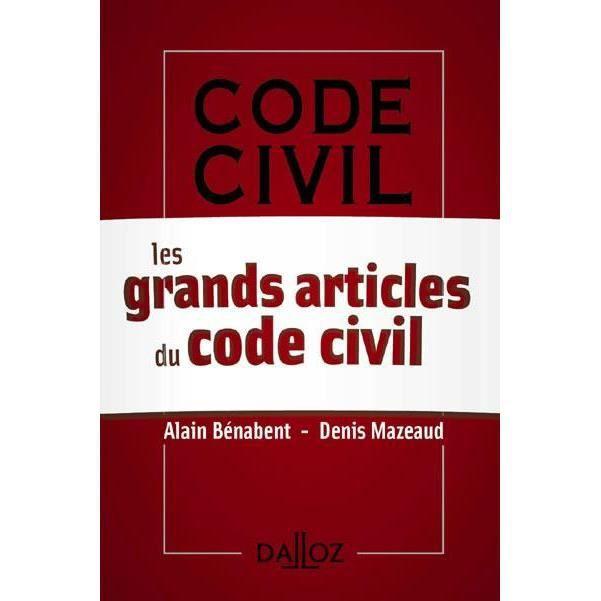 livres bd politique economie droit les grands articles du code civil  f
