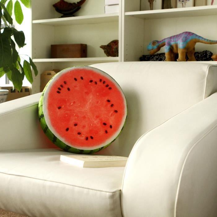 coussin past que ou d co en forme de fruit original et. Black Bedroom Furniture Sets. Home Design Ideas