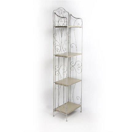 etag re colonne m tal achat vente meuble tag re etag re colonne m tal m tal bois cdiscount. Black Bedroom Furniture Sets. Home Design Ideas