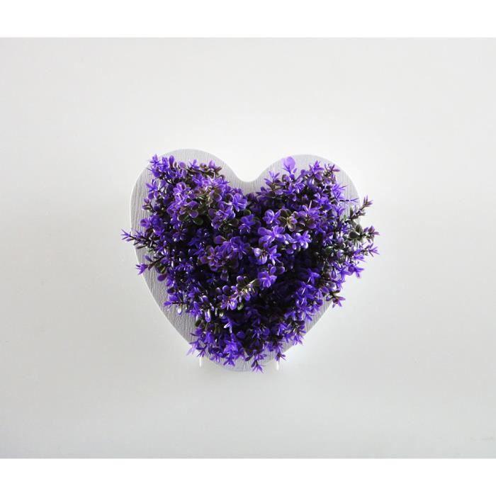 fleur plante artificielle plastique d coration murale achat vente objet d coratif cdiscount. Black Bedroom Furniture Sets. Home Design Ideas