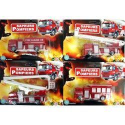 camion de pompier 12 cm jeux jouet achat vente voiture camion cdiscount. Black Bedroom Furniture Sets. Home Design Ideas