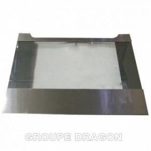 Hublot exterieure acier 59 5cm x 46 5cm pour fo achat for Hublot pour porte exterieure