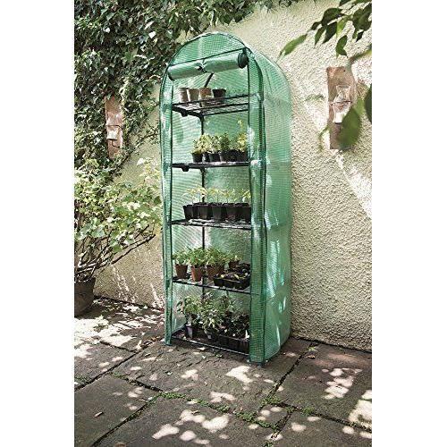 Gardman 08916 serre en arc 5 niveaux achat vente for Jardin 2 niveaux