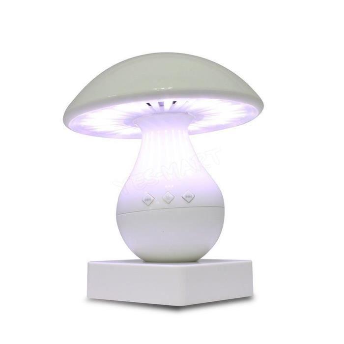 parleur champignons capteur tactile sans fil bluetooth. Black Bedroom Furniture Sets. Home Design Ideas