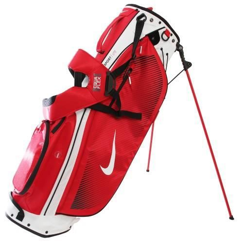nike sac tr pied de golf taille unique blanc blanc rouge achat vente sac de golf nike. Black Bedroom Furniture Sets. Home Design Ideas