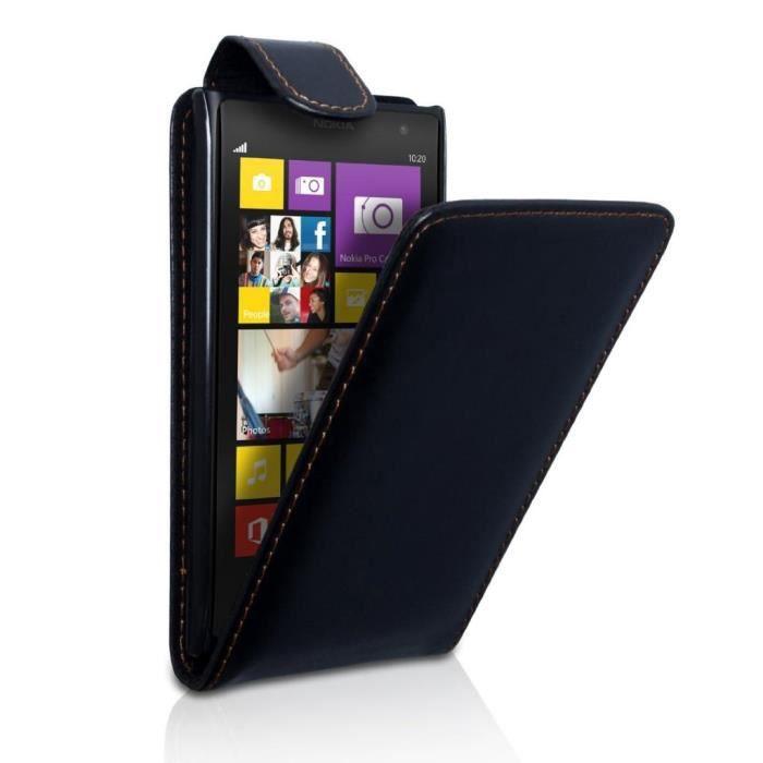 etui simili cuir noir nokia lumia 1020 achat housse 233 tui pas cher avis et meilleur prix