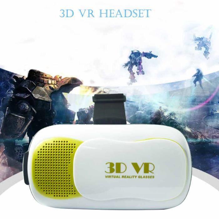 vococal lunettes de r alit virtuelle en 3d films jeux pou achat vente casque r alit. Black Bedroom Furniture Sets. Home Design Ideas