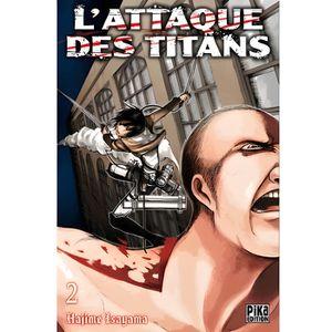 MANGA L'attaque des titans Tome 2