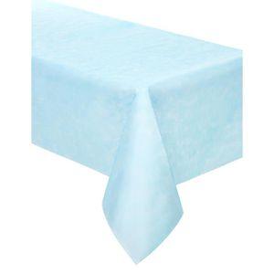 nappe papier bleu achat vente nappe papier bleu pas cher cdiscount. Black Bedroom Furniture Sets. Home Design Ideas