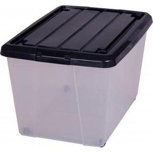 Boite de rangement a roulette achat vente boite de - Bac de rangement plastique avec couvercle pas cher ...