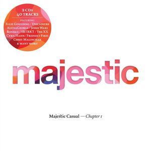 CD TECHNO - ELECTRO Majestic casual by Compilation (CD)