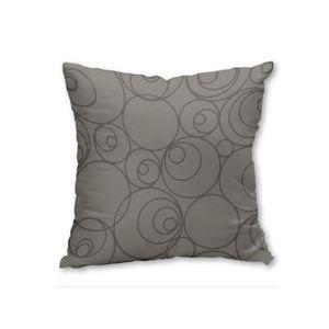 housse de coussin dehoussable 40x40 gris achat vente housse de coussin dehoussable 40x40. Black Bedroom Furniture Sets. Home Design Ideas
