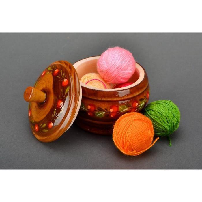 bo te bijoux en bois avec ornement coffret pour accessoire fait main cadeau femme achat. Black Bedroom Furniture Sets. Home Design Ideas