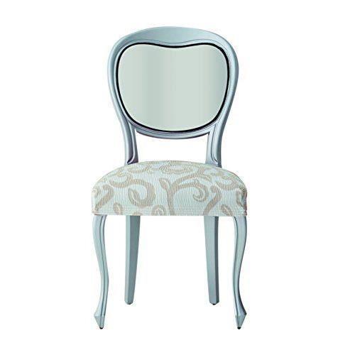 Eysa s63470 6 housses de chaise polyester coton elasthanne for Housse de chaise coton