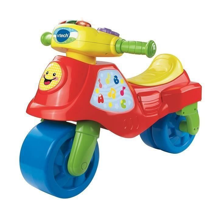 voitures a pedales  Vtech  181705  Tricycle  Cyclo moto 2 En 1  Rouge