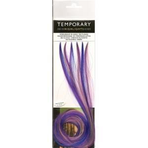 mches 1vio temporaires de couleur rose pale lilas bleu v - Coloration Rose Temporaire