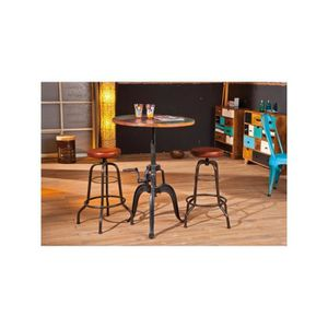 Table Ronde Bois Massif Achat Vente Table Ronde Bois