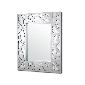 Miroir cadre argente achat vente pas cher soldes for Cadre miroir pas cher