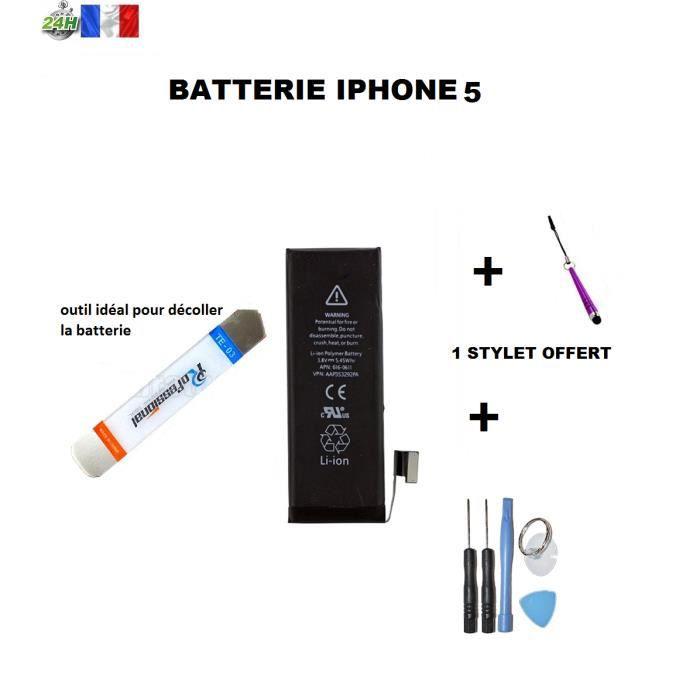 batterie apple iphone 5 qualit origine kit outils. Black Bedroom Furniture Sets. Home Design Ideas