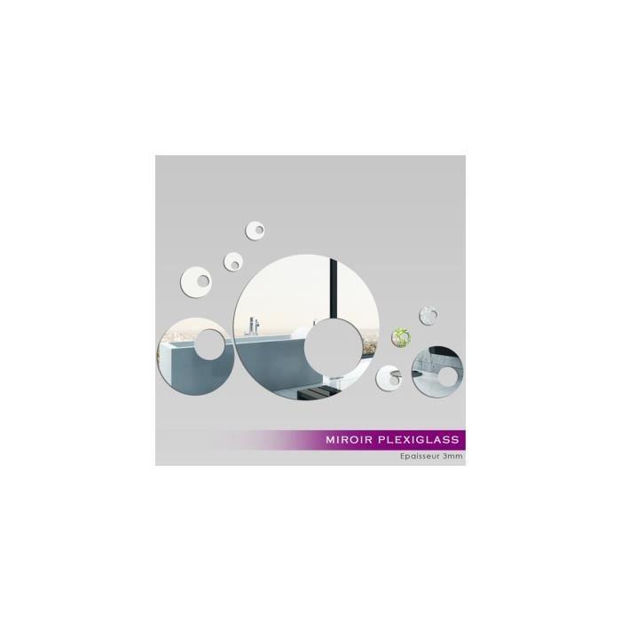 miroir plexiglass acrylique design 9 ref mir 197 kit 40x60 cm miroir d 233 coratif qui s
