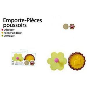 2 emporte pieces poussoir fleur lapin biscuit g achat vente emporte pi ce 2 emporte pieces. Black Bedroom Furniture Sets. Home Design Ideas