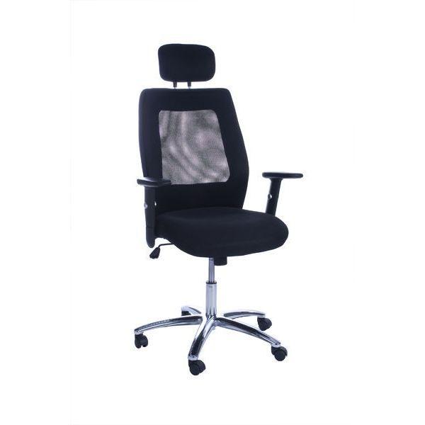 Fauteuil de bureau confort mansfield noir achat vente - Fauteuil de bureau confort ...