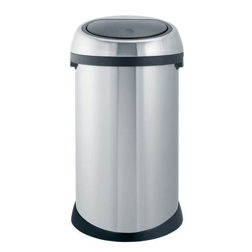 poubelle brabantia touch bin 50 l acier mat fpp achat vente poubelle corbeille poubelle. Black Bedroom Furniture Sets. Home Design Ideas