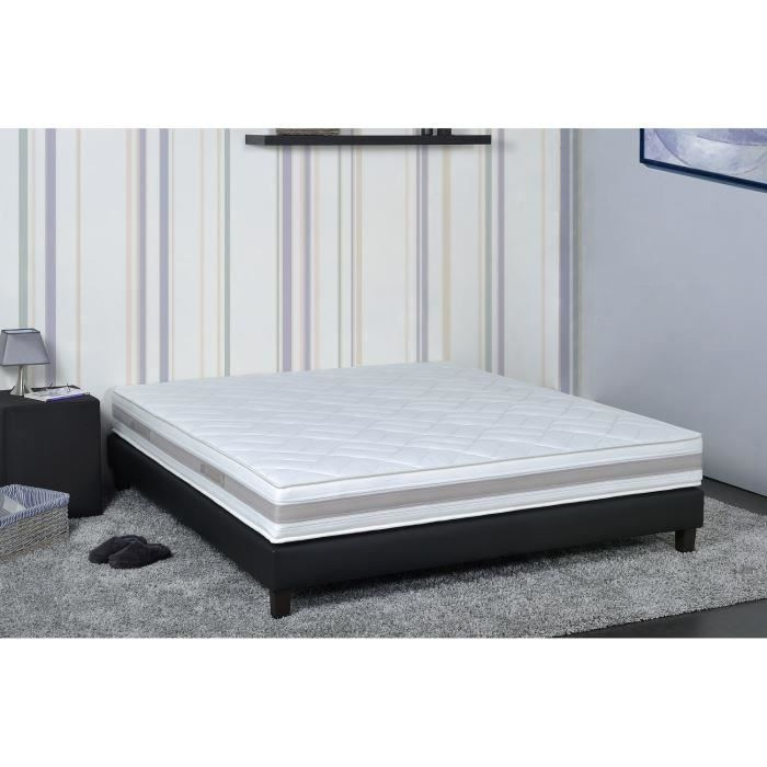 nuit de r ve matelas 140x190 latex aertech hauteur 20 cm soutien ferme orthop dique. Black Bedroom Furniture Sets. Home Design Ideas