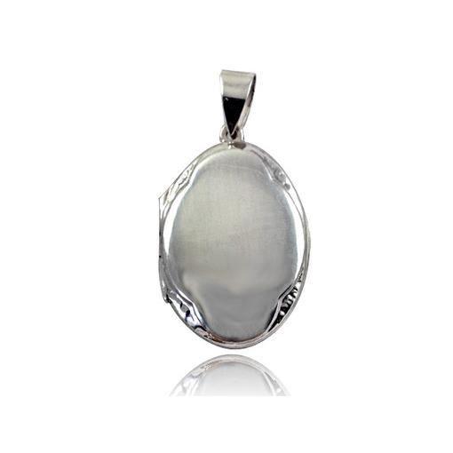 Pendentif porte photo ovale de 3cm en argent ma achat for Miroir qui s accroche a la porte