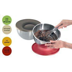 Cul de poule inox couvercle base taupe yoocook achat - Cul de poule en cuisine ...