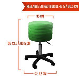 tabouret reglable a roulettes achat vente tabouret. Black Bedroom Furniture Sets. Home Design Ideas