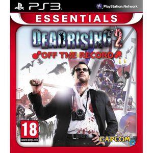 JEU PS3 DEAD RISING 2 OFF RECORD ESSENTIAL / PS3
