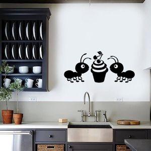 La maison des fourmis achat vente la maison des - Stickers muraux salon ...