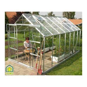 Serre de jardin en verre achat vente serre de jardin en verre pas cher - Serre de jardin en solde ...