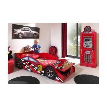Meuble lit design adulte voiture spider race achat vente structure de lit - Lit voiture occasion ...