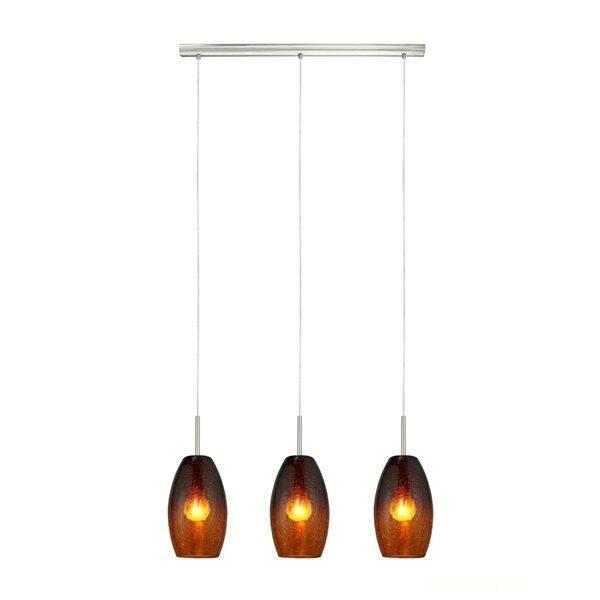 suspension 3 lumieres plafonnier design eclairage d. Black Bedroom Furniture Sets. Home Design Ideas