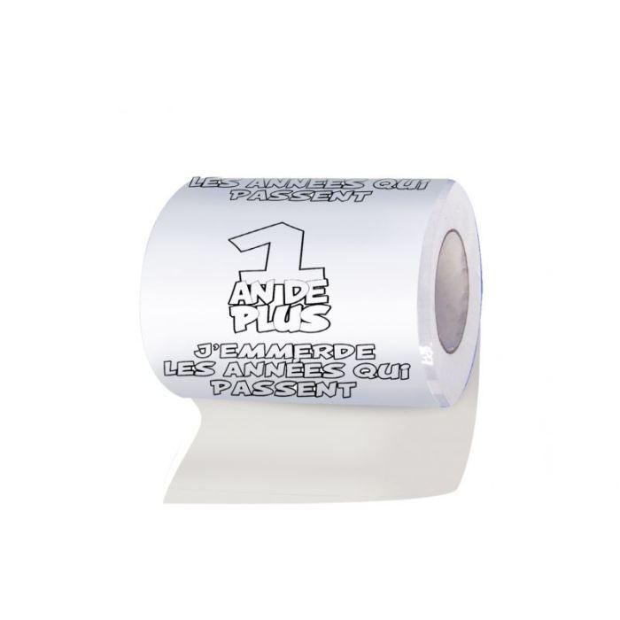 papier toilettes 1 an de plus achat vente farce et attrape cdiscount. Black Bedroom Furniture Sets. Home Design Ideas