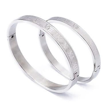 bijoux bracelet mode chiffres romains couple arge achat vente bracelet gourmette bijoux. Black Bedroom Furniture Sets. Home Design Ideas