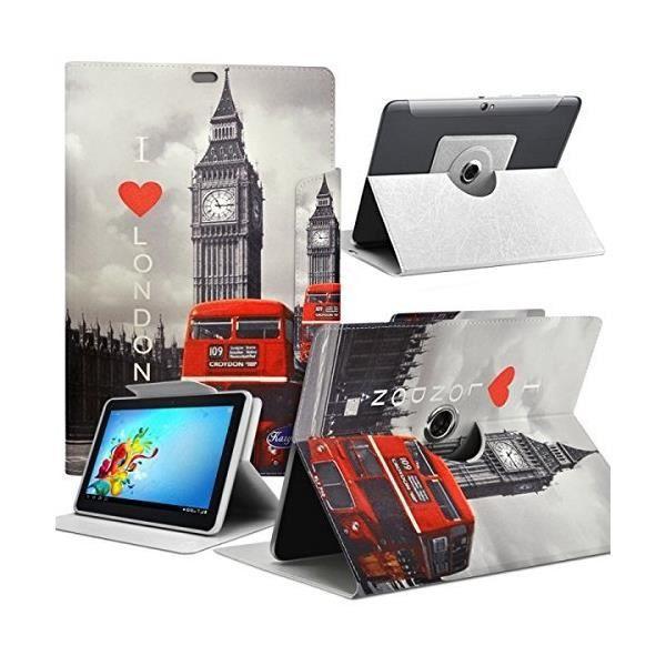 informatique accessoires tablettes tactiles housse etui motif za universel l pour tablette h f  kar