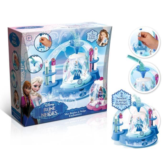 La reine des neiges boules neige enchant es achat vente support d corer frozen boules - Jeux gratuit la reine des neige ...