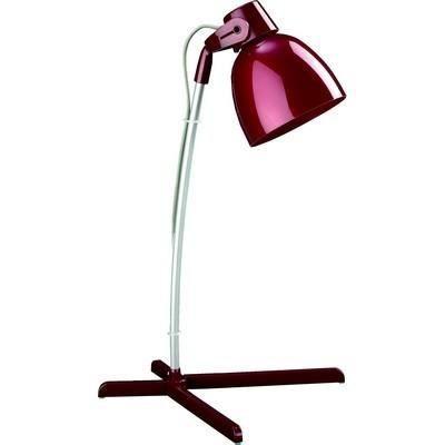 Lampe de bureau massive bureau timo rouge 12 w achat - Lampe de bureau massive ...