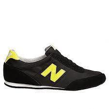 new balance noire et jaune fluo